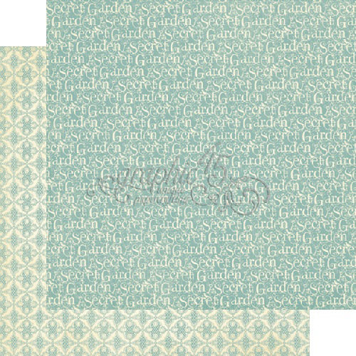 Graphic 45 - Secret Garden Collection - 12 x 12 Double Sided Paper - April Showers