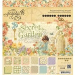 Graphic 45 - Secret Garden Collection - 8 x 8 Paper Pad