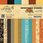 Graphic 45 - Steampunk Spells Collection - 6 x 6 Patterns and Solids Paper Pad