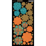 Graphic 45 - Steampunk Spells Collection - Cardstock Flowers