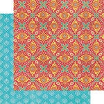 Graphic 45 - Bohemian Bazaar Collection - 12 x 12 Double Sided Paper - Jasmine Nights