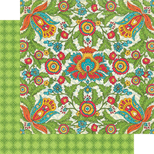 Graphic 45 - Bohemian Bazaar Collection - 12 x 12 Double Sided Paper - Vivid Splendor