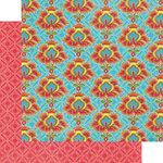 Graphic 45 - Bohemian Bazaar Collection - 12 x 12 Double Sided Paper - Opulent Sunset
