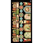 Graphic 45 - Twelve Days of Christmas Collection - Cardstock Banners