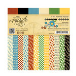Graphic 45 - Mother Goose Collection - 6 x 6 Patterns and Solids Pad