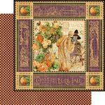 Graphic 45 - An Eerie Tale Collection - Halloween - 12 x 12 Double Sided Paper - An Eerie Tale