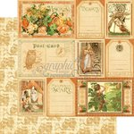 Graphic 45 - An Eerie Tale Collection - Halloween - 12 x 12 Double Sided Paper - Fanciful Fable