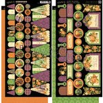 Graphic 45 - An Eerie Tale Collection - Halloween - Cardstock Banners