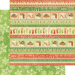 Graphic 45 - Twas the Night Before Christmas Collection - 12 x 12 Double Sided Paper - Ho Ho Ho