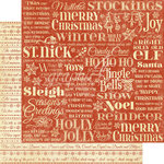 Graphic 45 - Twas the Night Before Christmas Collection - 12 x 12 Double Sided Paper - Merry Mistletoe