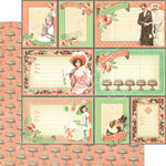 Graphic 45 - Time to Celebrate Collection - 12 x 12 Double Sided Paper - You're Invited