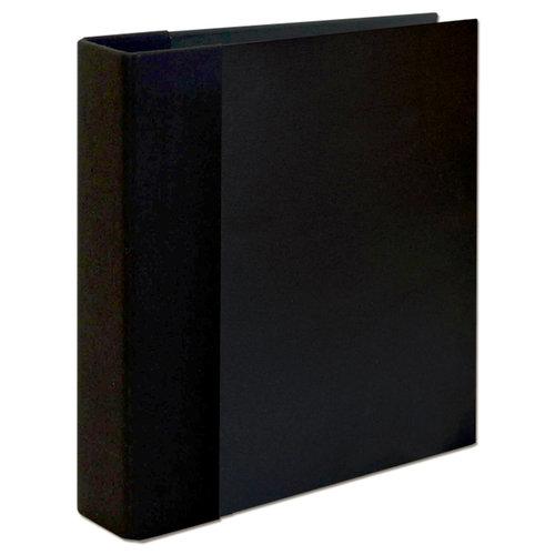 Graphic 45 - Staples Collection - Mixed Media - Album - Black