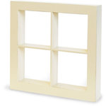 Graphic 45 - Staples Collection - Window Shadow Box - Ivory