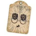 Graphic 45 - Staples Collection - Antique Brass Door Knockers