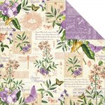 Graphic 45 - Time to Flourish Collection - 12 x 12 Double Sided Paper - May Flourish