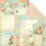 Graphic 45 - Time to Flourish Collection - 12 x 12 Double Sided Paper - June Cut Apart