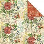 Graphic 45 - Time to Flourish Collection - 12 x 12 Double Sided Paper - July Flourish