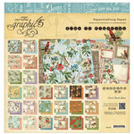 Graphic 45 - Time to Flourish Collection - 12 x 12 Paper Pad