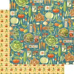 Graphic 45 - Home Sweet Home Collection - 12 x 12 Double Sided Paper - Farmers Market