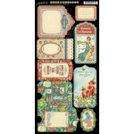 Graphic 45 - Home Sweet Home Collection - Cardstock Tags and Pockets