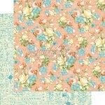 Graphic 45 - Precious Memories Collection - 12 x 12 Double Sided Paper - Baby's Breath