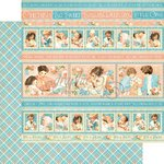 Graphic 45 - Precious Memories Collection - 12 x 12 Double Sided Paper - Cuddle Time