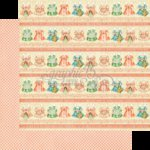 Graphic 45 - Precious Memories Collection - 12 x 12 Double Sided Paper - Sugar and Spice