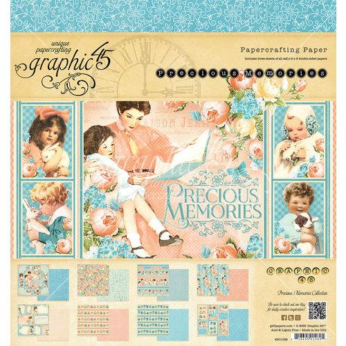 Graphic 45 - Precious Memories Collection - 8 x 8 Paper Pad