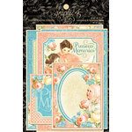 Graphic 45 - Precious Memories Collection - Journaling and Ephemera Cards
