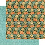 Graphic 45 - Artisan Style Collection - 12 x 12 Double Sided Paper - Decorative Flourish