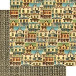 Graphic 45 - Artisan Style Collection - 12 x 12 Double Sided Paper - This Old House