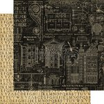 Graphic 45 - Artisan Style Collection - 12 x 12 Double Sided Paper - Craftsmanship