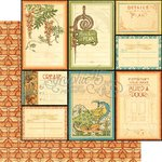 Graphic 45 - Artisan Style Collection - 12 x 12 Double Sided Paper - Attention to Detail
