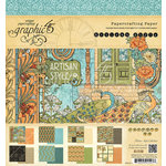 Graphic 45 - Artisan Style Collection - 8 x 8 Paper Pad