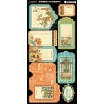 Graphic 45 - Artisan Style Collection - Cardstock Tags and Pockets