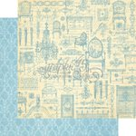 Graphic 45 - Gilded Lily Collection - 12 x 12 Double Sided Paper - Versailles