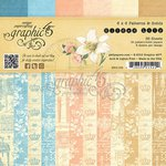 Graphic 45 - Gilded Lily Collection - 6 x 6 Patterns and Solids Paper Pad