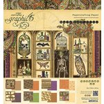 Graphic 45 - Rare Oddities Collection - 8 x 8 Paper Pad