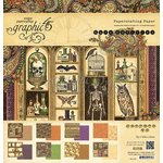 Graphic 45 - Rare Oddities Collection - 12 x 12 Paper Pad