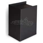 Graphic 45 - Staples Collection - Artist Trading Card Book Box - Black