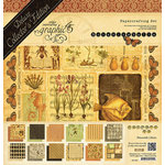 Graphic 45 - Botanicabella Collection - Deluxe Collector's Edition - 12 x 12 Papercrafting