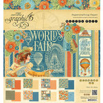 Graphic 45 - Worlds Fair Collection - 8 x 8 Paper Pad