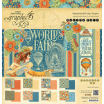 Graphic 45 - Worlds Fair Collection - 12 x 12 Paper Pad
