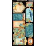 Graphic 45 - Worlds Fair Collection - Cardstock Tags and Pockets