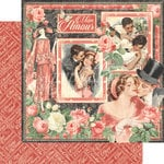 Graphic 45 - Mon Amour Collection - 12 x 12 Double Sided Paper - Mon Amour
