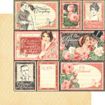 Graphic 45 - Mon Amour Collection - 12 x 12 Double Sided Paper - My Beloved