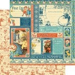 Graphic 45 - Childrens Hour Collection - 12 x 12 Double Sided Paper - January Collective