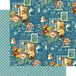Graphic 45 - Childrens Hour Collection - 12 x 12 Double Sided Paper - January Montage