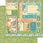 Graphic 45 - Childrens Hour Collection - 12 x 12 Double Sided Paper - April Collective