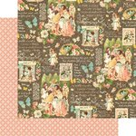 Graphic 45 - Childrens Hour Collection - 12 x 12 Double Sided Paper - May Montage